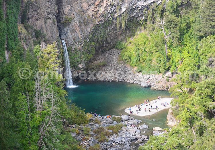 Parc Radal Siete Tazas et parc Ingles, Chili avec l'agence de voyage Chile Excepción