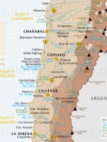 Carte IIIe Région d'Atacama