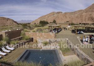 Hotel Alto Atacama, vallée Katarpé