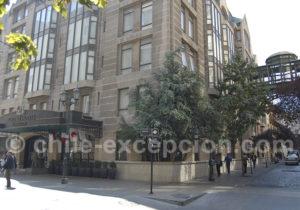 Hotel Fundador, quartier Londres à Santiago