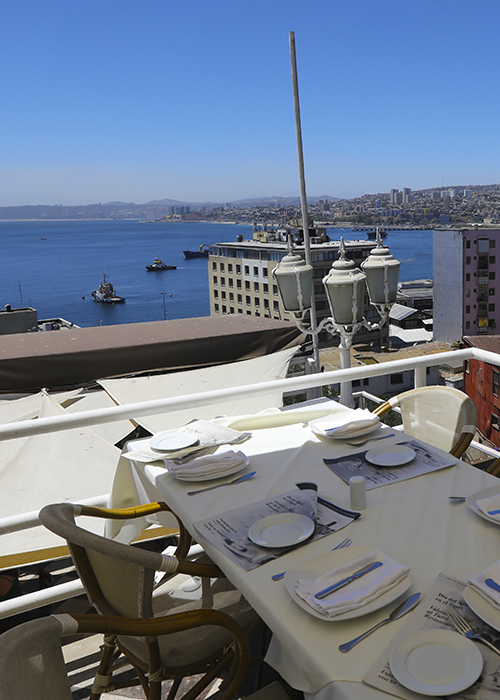Restaurants à Valparaiso