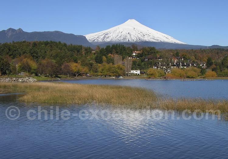 Volcan et lac Villarrica, Pucon