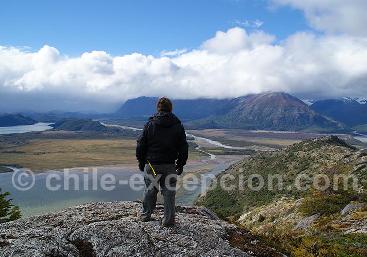 Randonnée Mirador del Valle Ohiggins