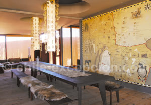 Salle des excursions, hôtel Tierra Atacama