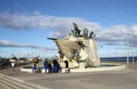 Monument à la Goélette Ancud, Punta Arenas