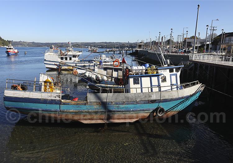 Les pêcheurs de Chiloé