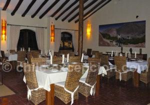 Salle à manger du Codpa Lodge