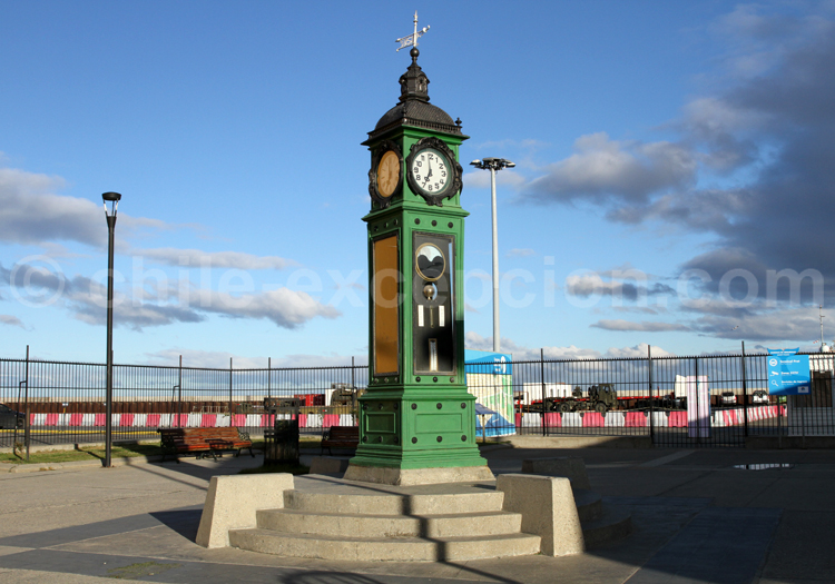 Horloge du port de Punta Arenas