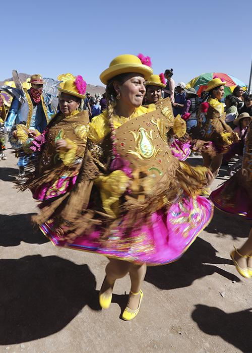 Danses traditionnelles du Chili
