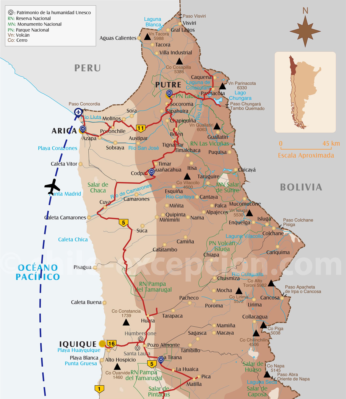 Archéologie Chili programme extrême nord