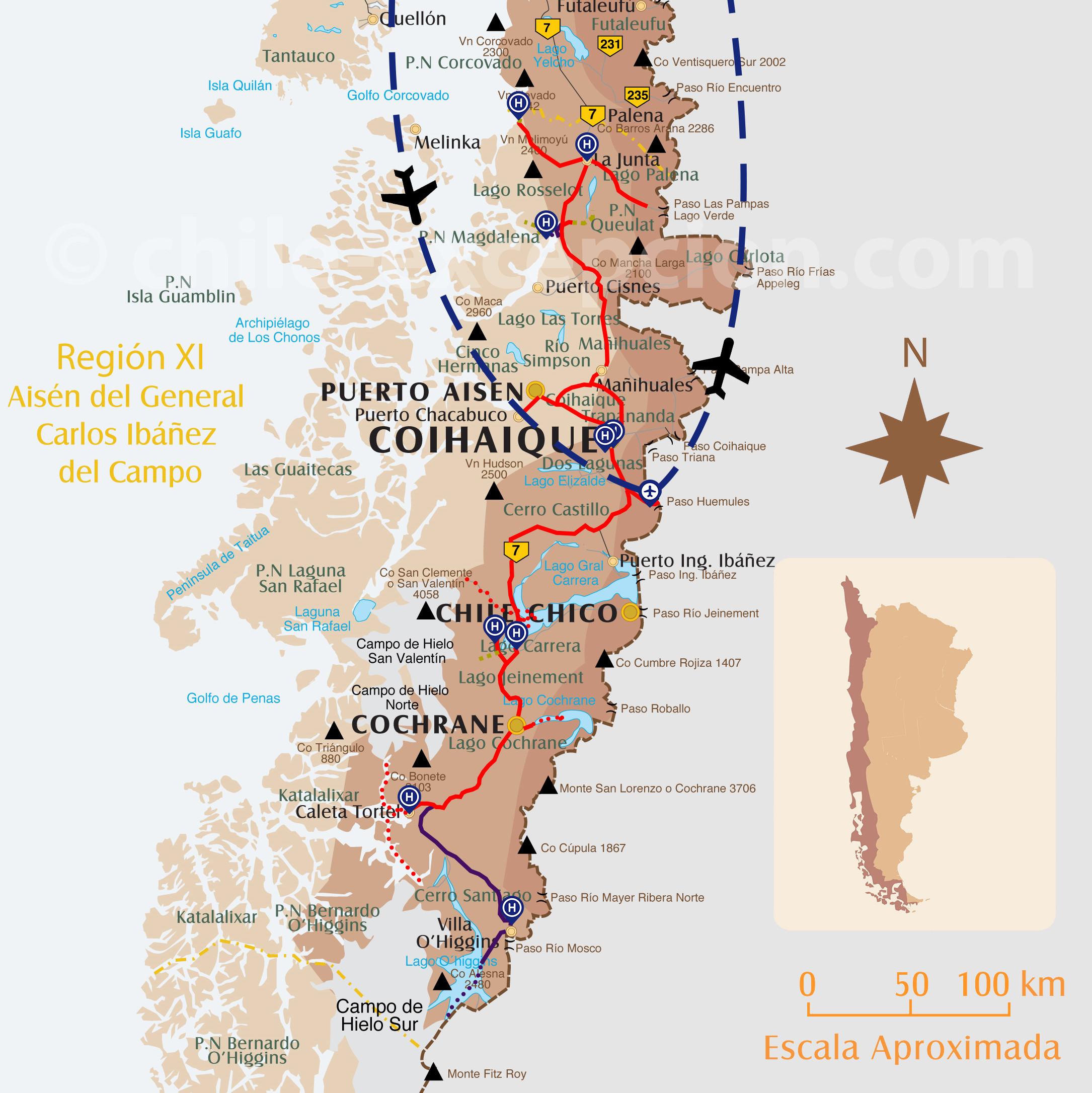 Autototour Route Australe circuit 17