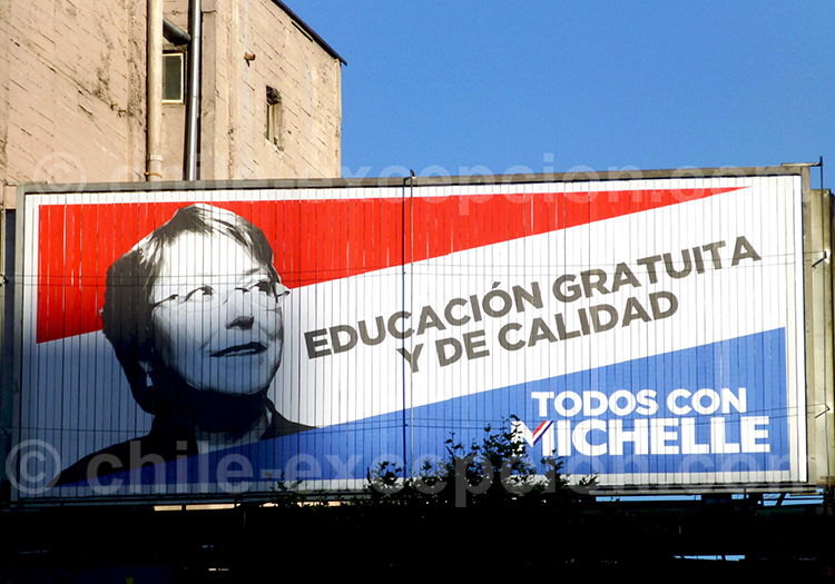 Campagne Bachelet 2013 © RiveraNotario