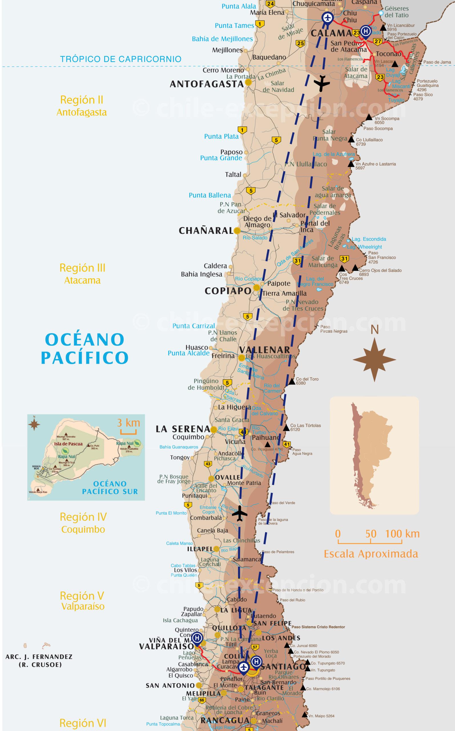 Carte voyage Chili San Pedro de Atacama 13