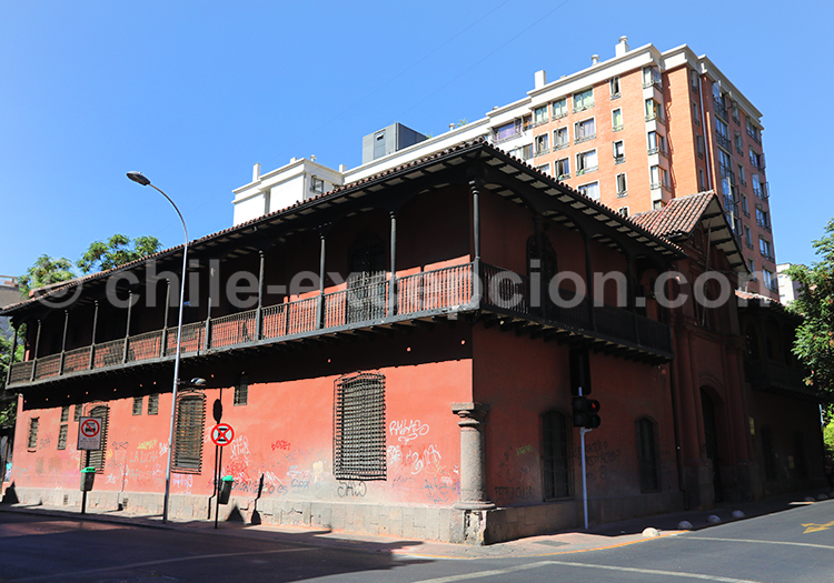 Casa Manso, Santiago, Chili avec l'agence de voyage Chile Excepción