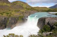 Cascade Salto Grande, parc Torres del Paine