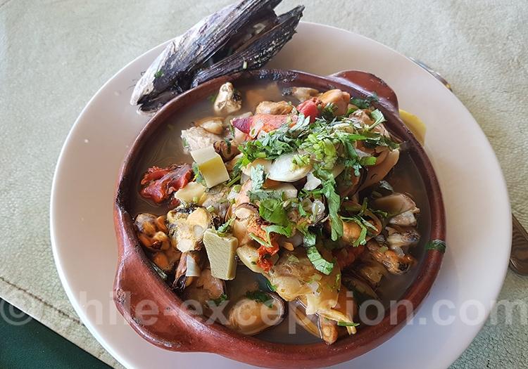 Cazuela de fruits de mer