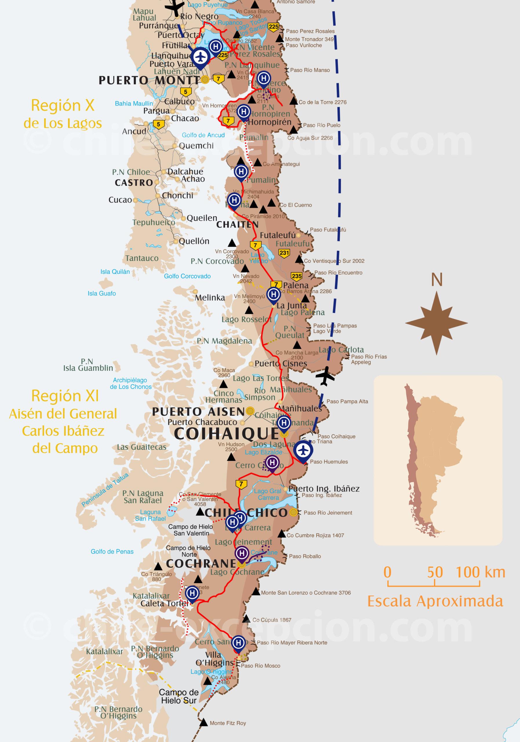 Circuit Autotour Carretera Australe intégrale 20