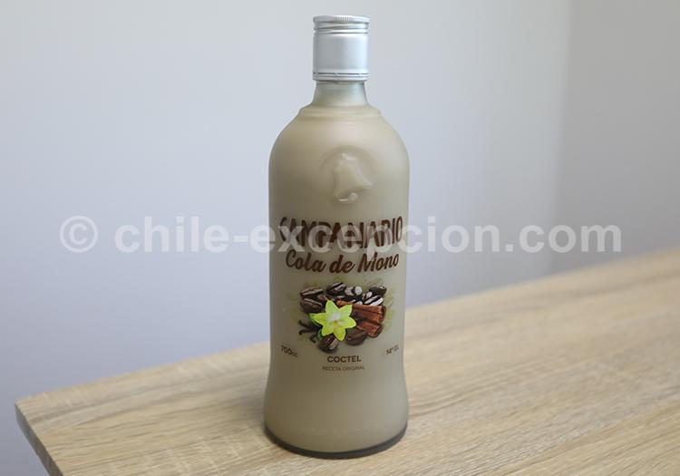 Cola de Mono, boisson typique du Chili avec l'agence de voyage Chile Excepción