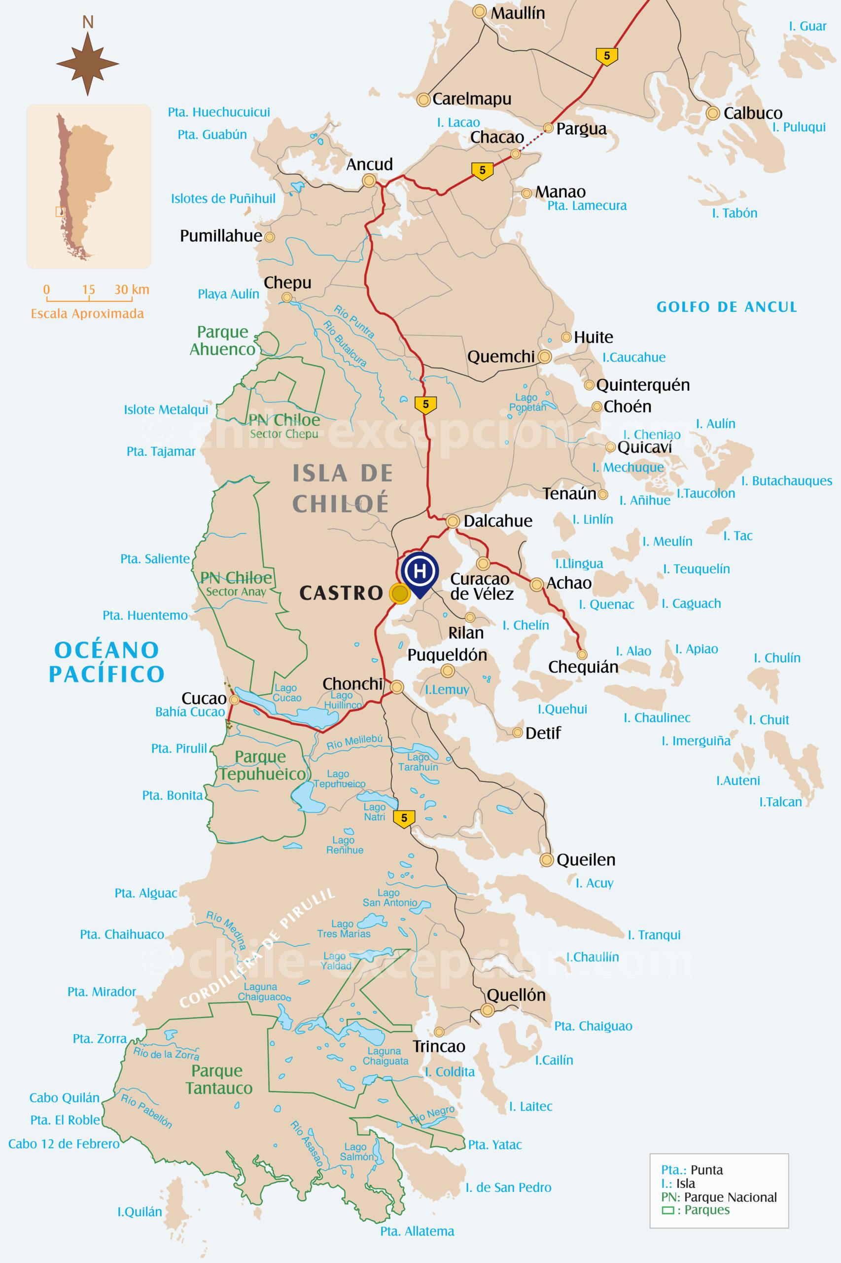 Croisière Skorpio II partie terrestre Chiloé