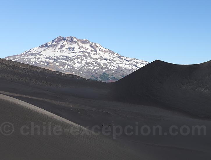 Découverte de la laguna blanca et du volcan Tolhuaca
