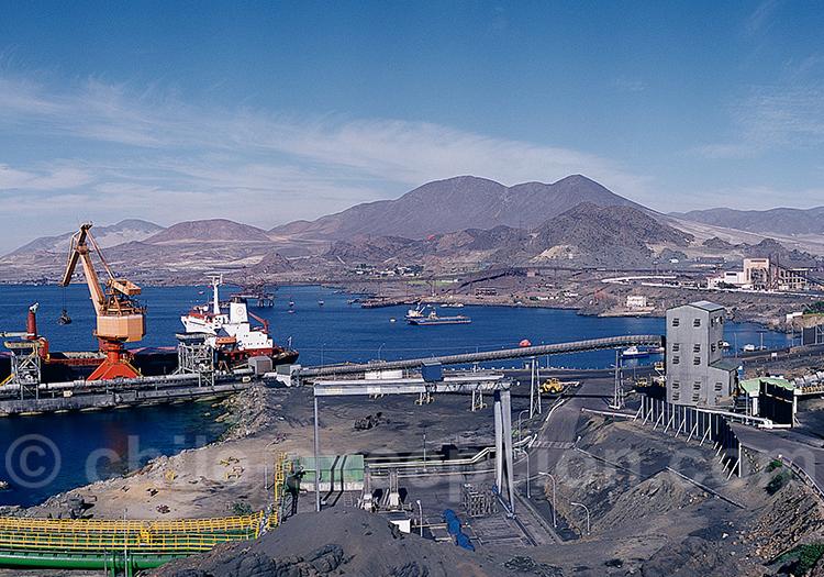 Exportation de minerais du Chili