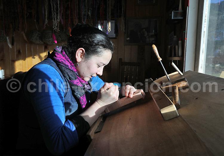 Artisanat, île de Chiloé