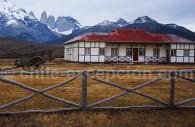 Face est massif Torres del Paine