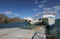 Ferry de Chile Chico a Puerto Ibañez, Chili