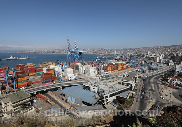 Géographie de Valparaiso avec l'agence de voyage de Chile Excepción