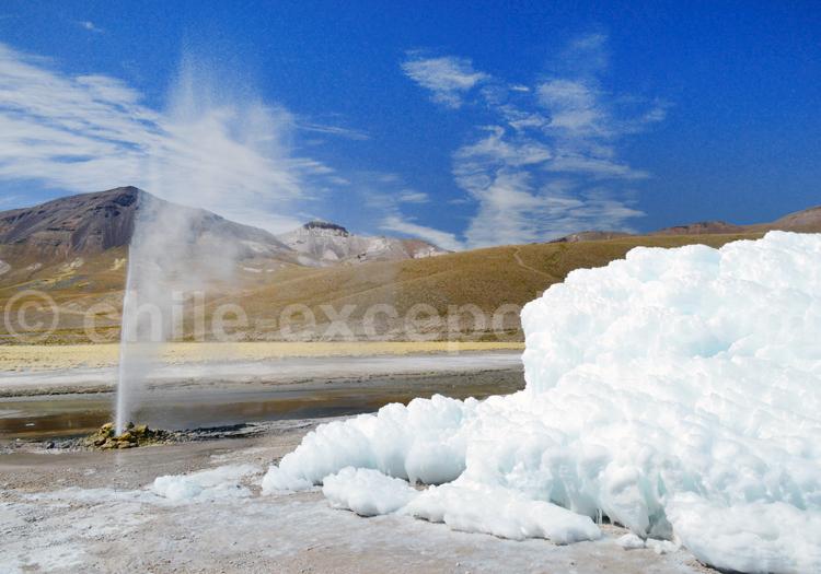 Geyser de Puchuldiza, désert et Altiplano, Chili avec l'agence de voyage Chile Excepción