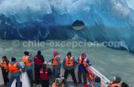Lac Grey, bateau Grey III, Torres del Paine