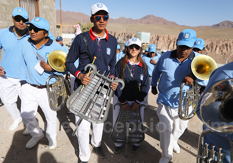 Instruments à percussion au Chili