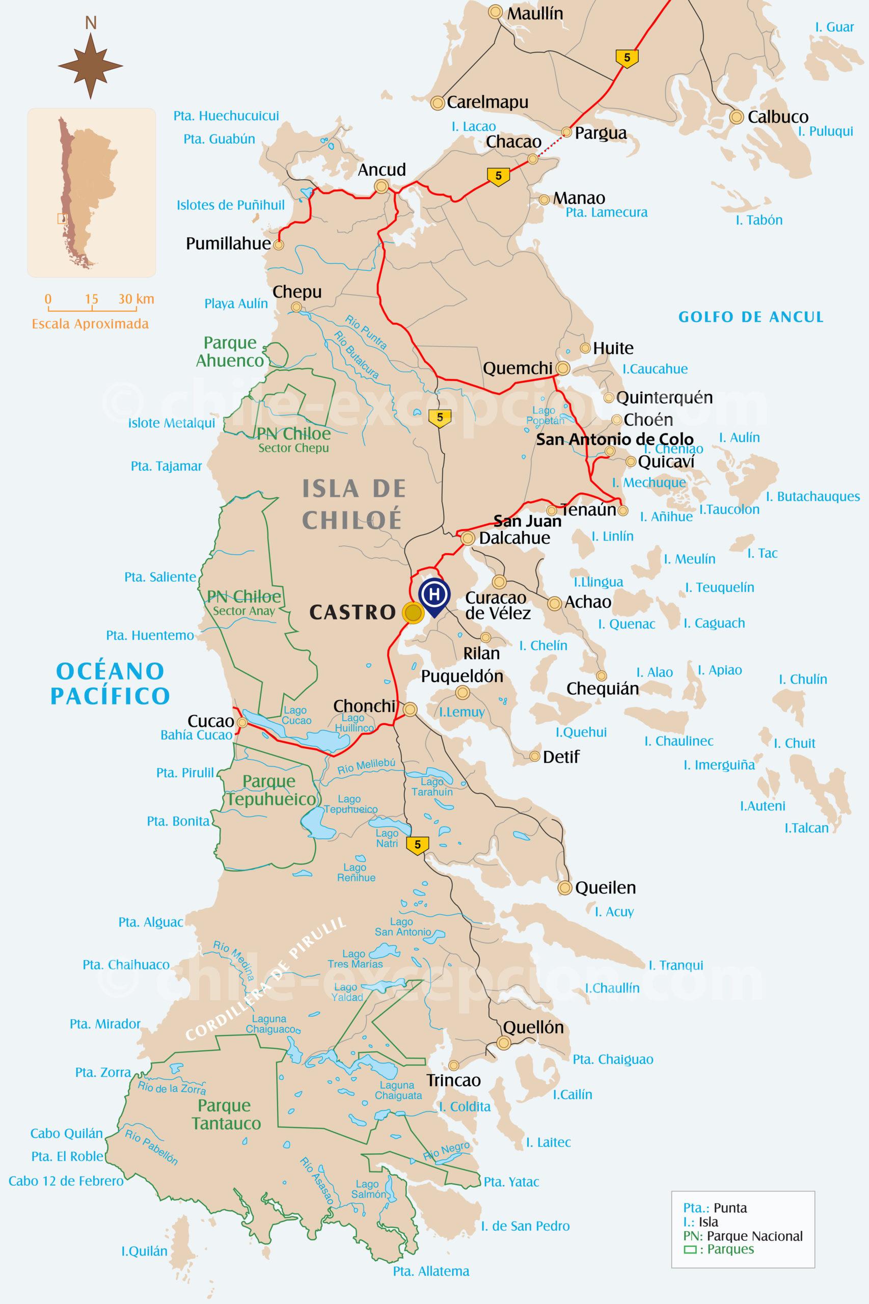 Itinéraire Chiloé Autotour Chili 16