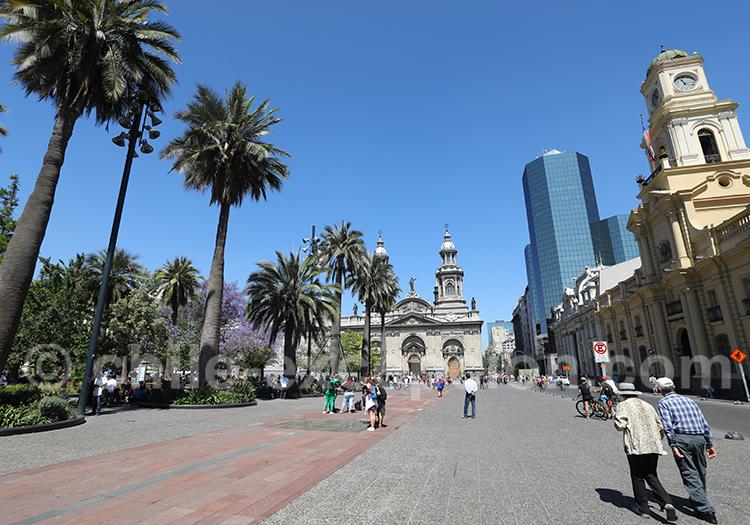Découverte de Santiago du Chili