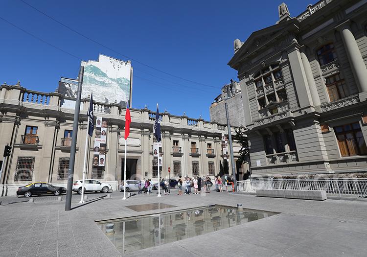 Visite du musée chilien d'Art Précolombien
