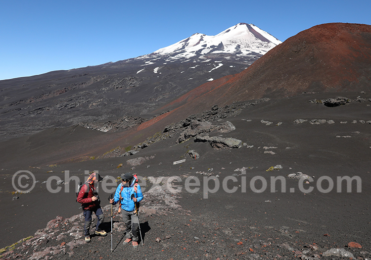 Preparation de l'ascension du volcan Llaima