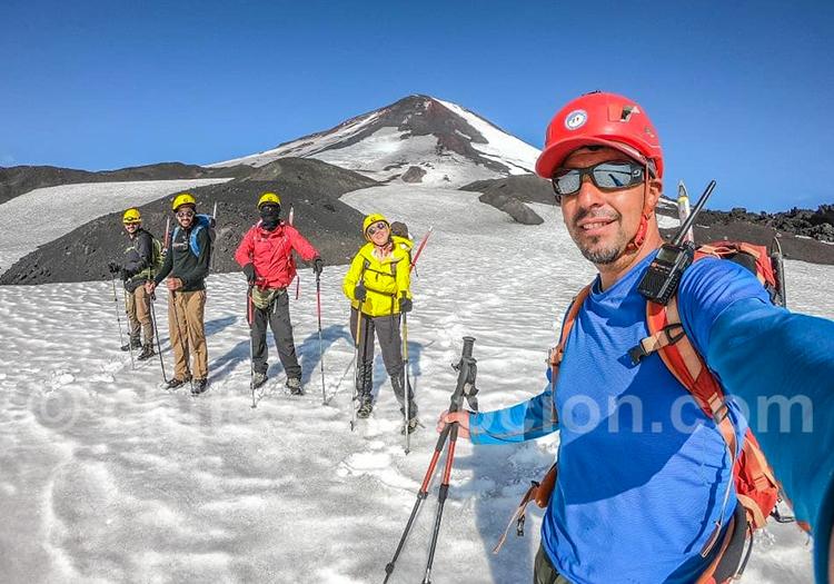 Ascension du volcan Llaima