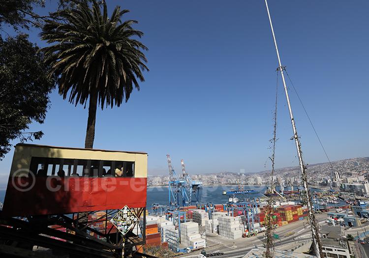 Valparaiso, ascenseur Artillería