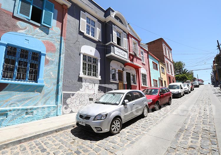 Séjour à Valparaiso