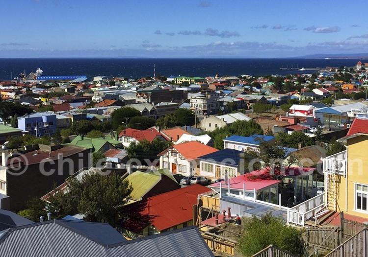 Arrivée à Punta Arenas et visite de la ville