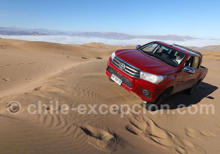 Excursion 4x4 dans les dunes de Copiapo