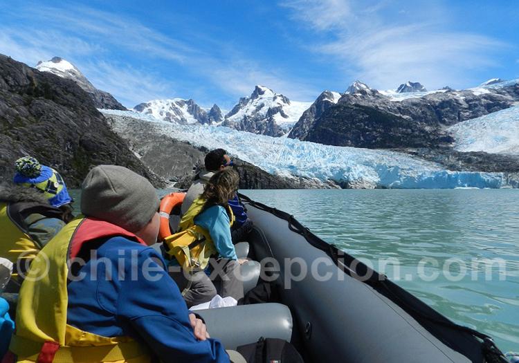 Excursion glacier Leones