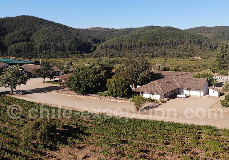 Séjour à Casa Bouchon, vallée del Maule