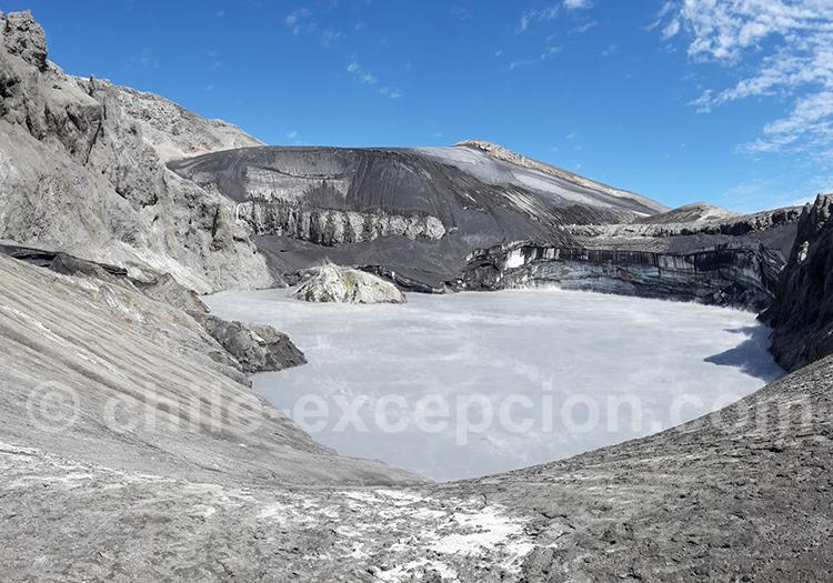 Départ pour l'ascension du volcan Lanin