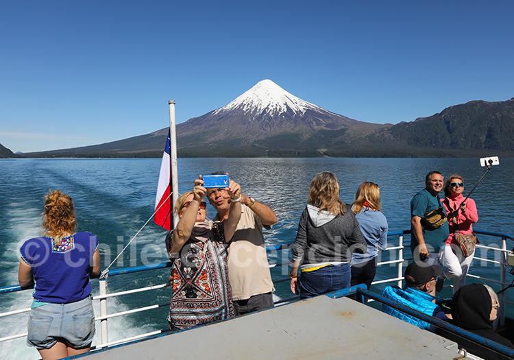 Traversée des lacs entre Chili et Argentine
