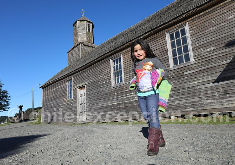 Visite des églises classées de Chiloé