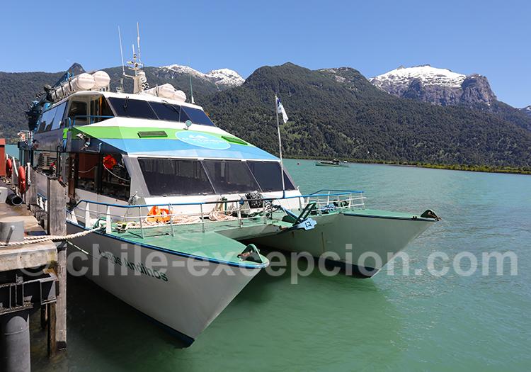 Excursion nautique sur le lac Todos Los Santos