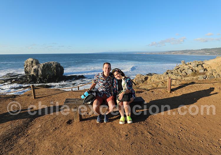 Promenade à Punta Lobos, Chili