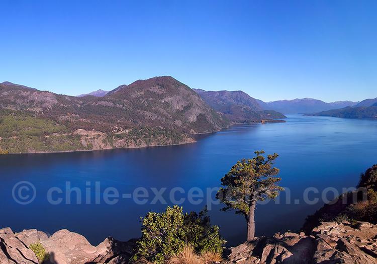 Etape à San Martin de Los Andes, lac Lacar