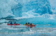 Kayak sur le lac Grey
